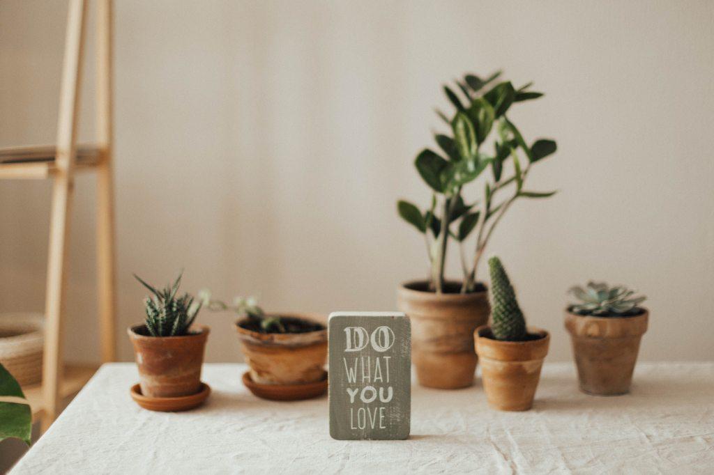 Uno slogan semplice per la vita di tutti i giorni
